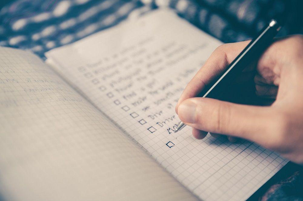 Seznam úkolů funguje jako vnitřní hlídací pes - nenechá vás prokrastinovat. Zdroj: pixabay.com