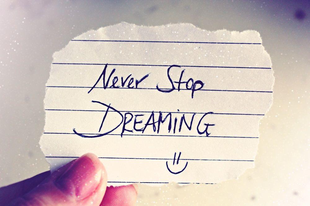 Víte-li, co chcete, jedna prohra Vás neporazí. Je třeba za svým snem jít!