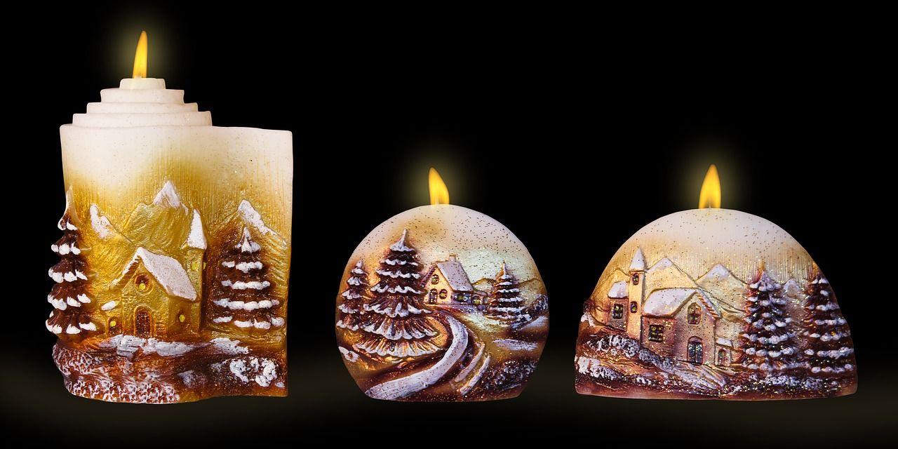 Ručně vyráběné svíčky jsou dobrým prodejním artiklem.